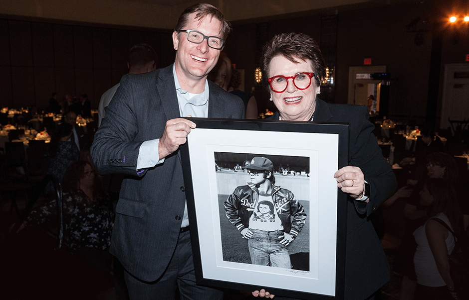 Billie Jean King, Her Justice Auction